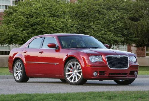 2010 Chrysler 300C SRT8 Front. Photo by Chrysler Group LLC.