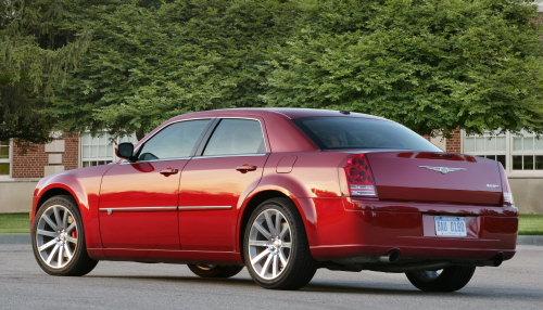 2010 Chrysler 300C SRT8 Rear. Photo by Chrysler Group LLC.