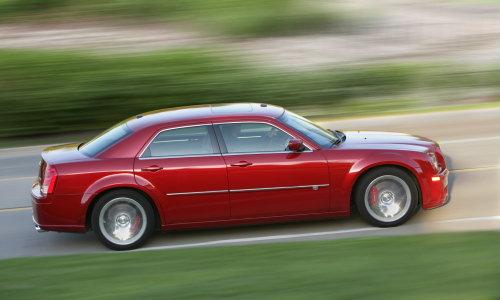 2010 Chrysler 300C SRT8 Side. Photo by Chrysler Group LLC.