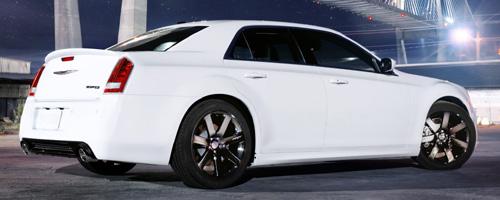 2012 Chrysler 300c SRT8 HEMI side.