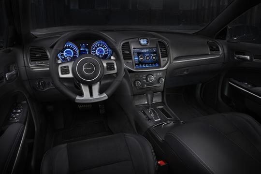 2014 Chrysler 300 SRT Interior.