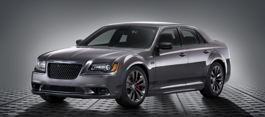2014 Chrysler 300 SRT Satin Vapor Edition -Front