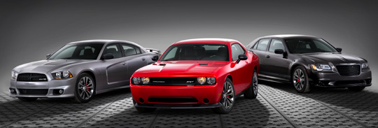 The Chrysler Group LLC's SRT brand is expanding its 2014 vehicle lineup by offering new Satin Vapor Editions of its Chrysler 300 SRT, Dodge Challenger SRT and Dodge Charger SRT models.