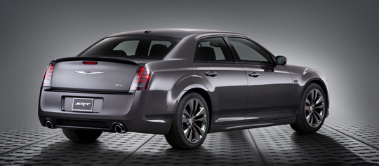 2014 Chrysler 300 SRT Satin Vapor Edition - Rear.