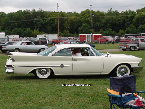 Chrysler, photo from the 2011 Gathering Of The Geezers, Xenia Ohio