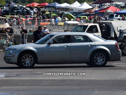 Chrysler 300, photo from the 2017 Mopar Nationals, Columbus Ohio