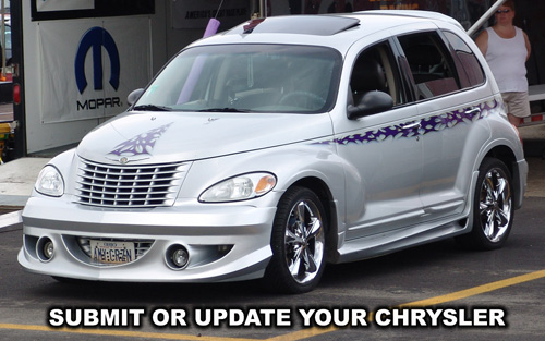 Submit or update your Chrysler