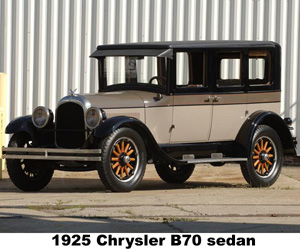 1925 Chrysler B70 Sedan