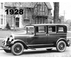 1928 Chrysler Model 72 Crown Sedan
