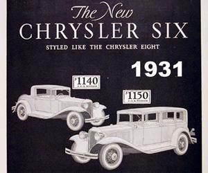 1931 Chrysler Six Convertible Coupe