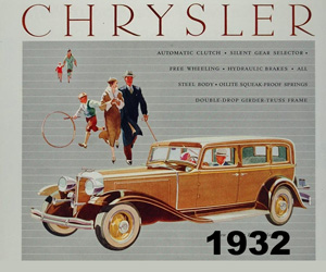 1932 Chrysler Six Convertible Coupe
