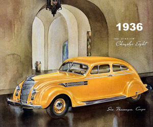 1936 Chrysler Air Flow Coupe