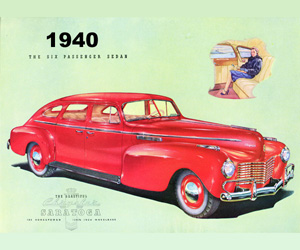 1940 Chrysler, photo from the Chrysler archives.
