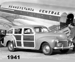 1941 Chrysler, photo from the Chrysler archives.