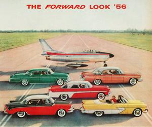 1956 Chrysler, photo from the Chrysler archives.