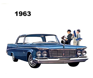 1963 Chrysler, photo from the Chrysler archives.