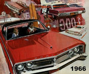 1966 Chrysler, photo from the Chrysler archives.