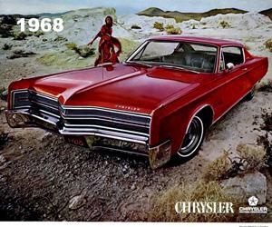 1968 Chrysler 300, photo from the Chrysler archives.