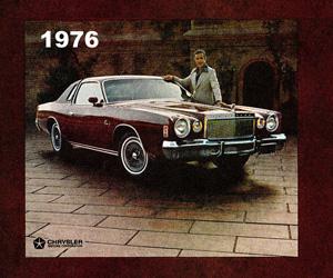 1976 Chrysler Cordoba, photo from the Chrysler archives.