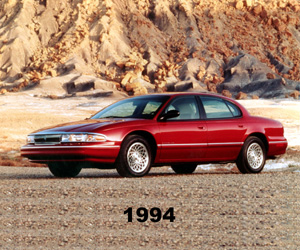 1994 Chrysler New Yorker, photo from the Chrysler archives.