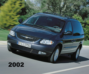 2002 Chrysler Grand Voyager, photo from the Chrysler archives.