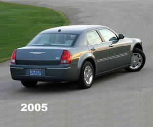 2005 Chrysler 300, photo from the Chrysler archives.