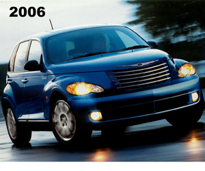 2006 PT Cruiser, photo from the Chrysler archives.
