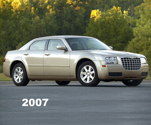 2007 Chrysler 300, photo from the Chrysler archives.