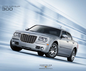 2008 Chrysler 300, photo from the Chrysler archives.
