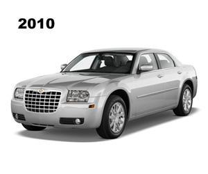 2010 Chrysler 300, photo from the Chrysler archives.