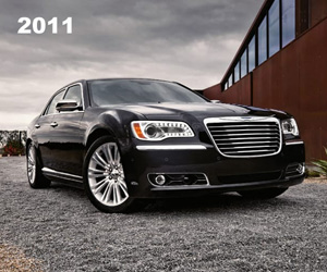 2011 Chrysler 300, photo from the Chrysler archives.