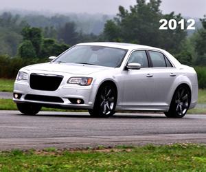 2012 Chrysler 300 SRT, photo from the Chrysler archives.