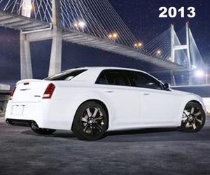 2013 Chrysler 300 SRT, photo from the Chrysler archives.