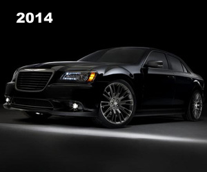 2014 Chrysler 300C John Varvatos Limited Edition , photo from the Chrysler archives.