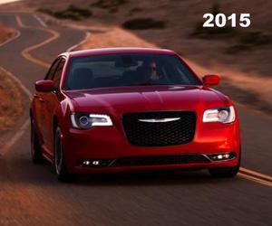 2015 Chrysler 300C Platinum, photo from the Chrysler archives.