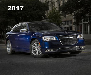2017 Chrysler 300C with 5.7-liter HEMI V-8 engine, photo from the Chrysler archives.