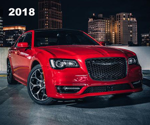 2018 Chrysler 300S with 5.7-liter HEMI V-8 engine, photo from the Chrysler archives.