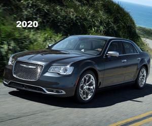 2020 Chrysler 300, photo from the Chrysler Archives.