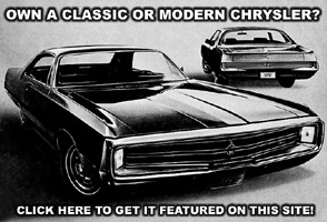 Own A Chrysler